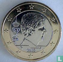 Belgium 1 euro 2015