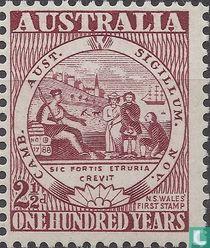 100 Jahre Briefmarken aus Australien
