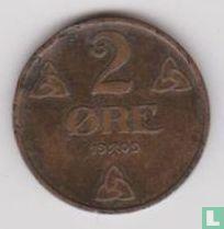 Norwegen 2 Øre 1909