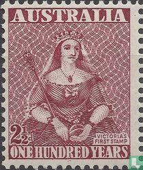 Hundert Jahre Briefmarken