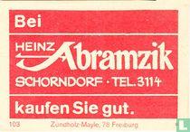 Bei Heinz Abramzik