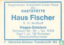 Gaststätte Haus Fischer - K.H. Musshoff
