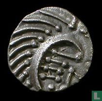 Anglo Saxon 1 sceat-penny  695-740 CE