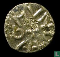 Anglo Saxon - Kingdom of Northumbria (Archbishop Wigmund)  1 styca  837-854 CE