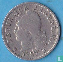 Argentinië 5 centavos 1927