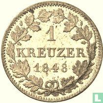 Beieren 1 kreuzer 1848