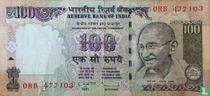 India 100 Rupees 2011 (F)