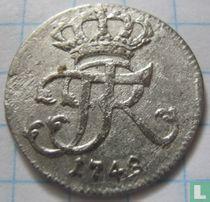 Pruisen 1/48 thaler 1748
