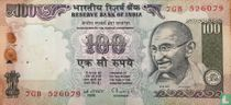 India 100 Rupees 1997