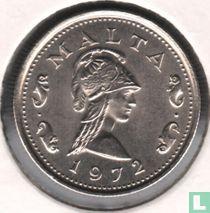 Malta 2 cents 1972