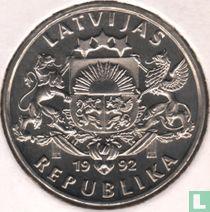Lettonie 1 lats 1992