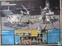 Reuze-poster Sovjetrussische Maanmachines