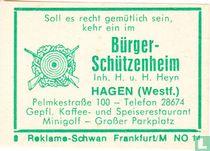 Bürger Schützenheim - H.u.H. Heyn