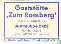 Gaststätte 'Zum Romberg' - Willi Bona