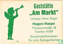 """Gaststätte """"Am Markt"""" - Hans Engel"""