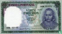 20 escudos D. António