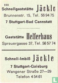 Helferhaus- Jäckle