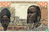 West African States - 100 francs - 1965