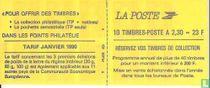 Carnet Marianne Buchen Sie Ihre Briefmarkensammlung