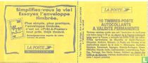Carnet Marianne Probeer gefrankeerde envelop