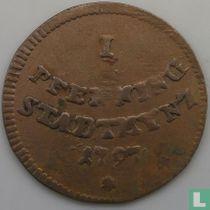 Augsburg 1 pfenning 1797