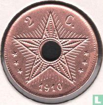 Belgisch-Kongo 2 centimes 1910