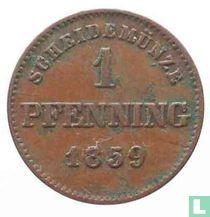 Beieren 1 pfenning 1859