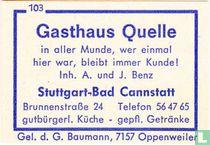 Gasthaus Quelle - A.u.J. Benz