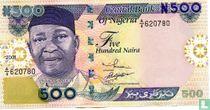 Nigeria 500 Naira 2001