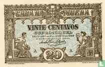 Portugal 20 centavos 1922