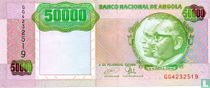 Angola 50.000 Kwanzas 1991