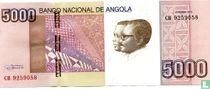 Angola 5.000 Kwanzas 2012