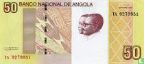 Angola 50 Kwanzas 2012