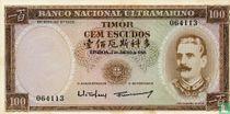 Timor 100 escudos 1959
