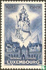 Madonna, beschermheilige van Luxemburg