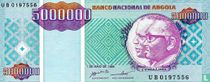 Angola 5 Miljoen Kwanzas Reajustados 1995