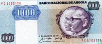 Angola 1.000 Kwanzas 1984