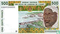 West Afr. Stat. 500 Francs D