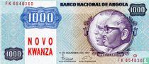 Angola 1.000 Novo Kwanza ND (1991)