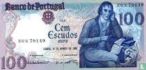 Portugal 100 escudos 1985 (12 maart)