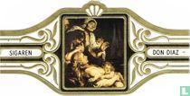 Raising of the cross. Detail P. P. Rubens