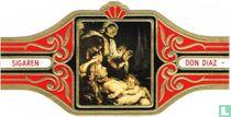 Raising Of The Cross. Detail P.P.Rubens