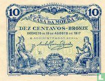 Portugal 10 centavos 1917
