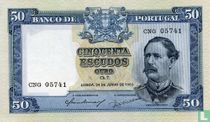 Portugal 50 escudos 1955