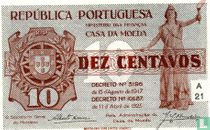 Portugal 10 centavos 1925
