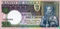 Angola 20 Escudos 1973