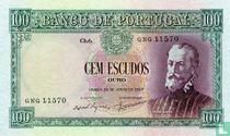 Portugal 100 escudos 1957
