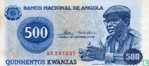 Angola 500 Kwanzas 1976