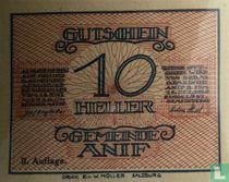 Anif 10 Heller 1920