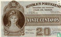 Portugal 20 centavos 1925